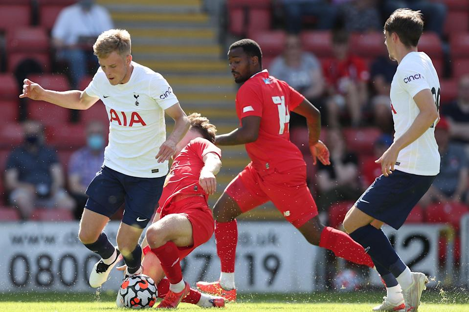 Tottenham drew 1-1 with Leyton Orient in their opening pre-season friendly (Tottenham Hotspur FC via Getty Images)