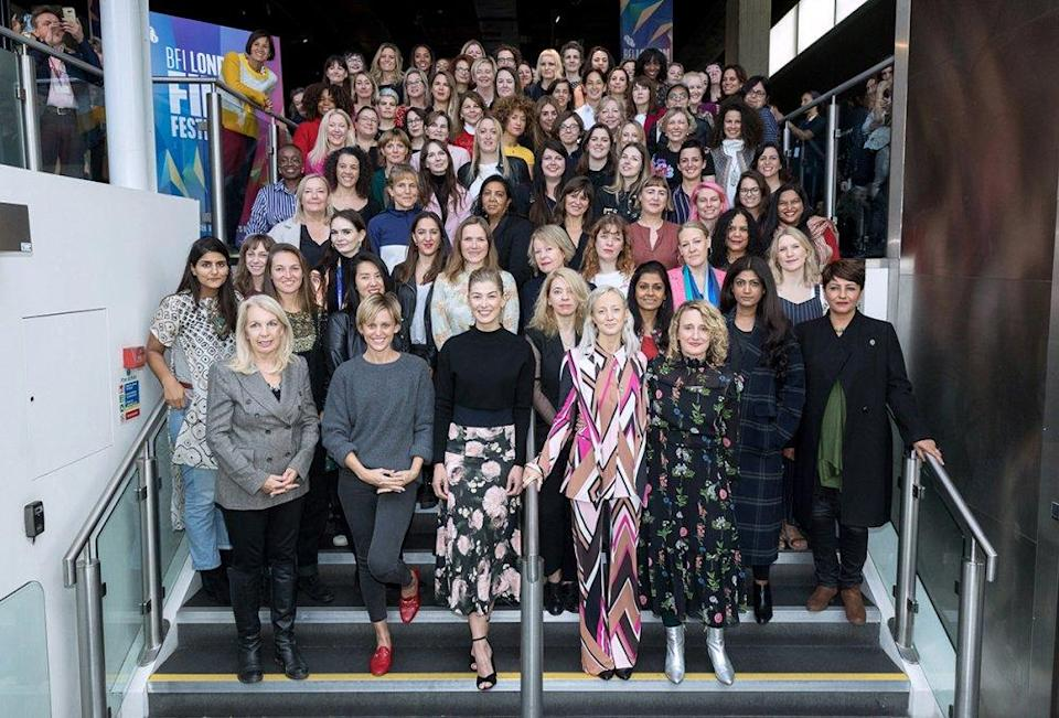 This year's BFI London Film Festival has seen 38% more female filmmakers presenting work.