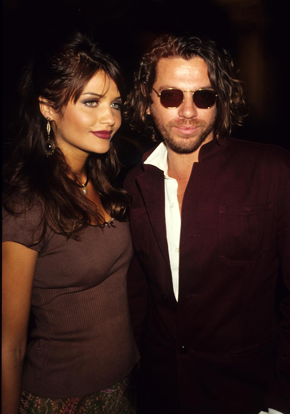 Helena Christensen and Michael Hutchence dated for four years. (Photo: Foc Kan/WireImage)