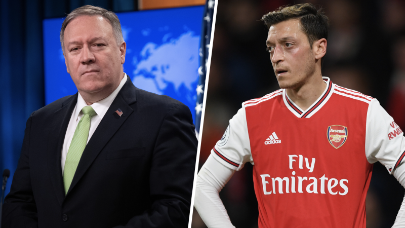 U.S. Secretary of State Pompeo backs Arsenal star Ozil in row with China over Uighur persecution