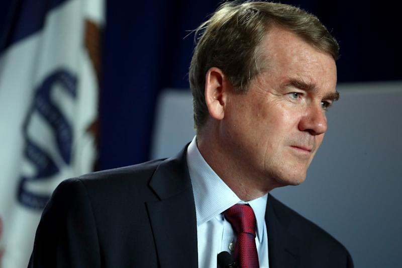 Democratic presidential candidate U.S. Sen. Michael Bennet (D-CO) speaks during the AARP and The Des Moines Register Iowa Presidential Candidate Forum on July 17, 2019 in Cedar Rapids, Iowa. | Justin Sullivan—Getty Images