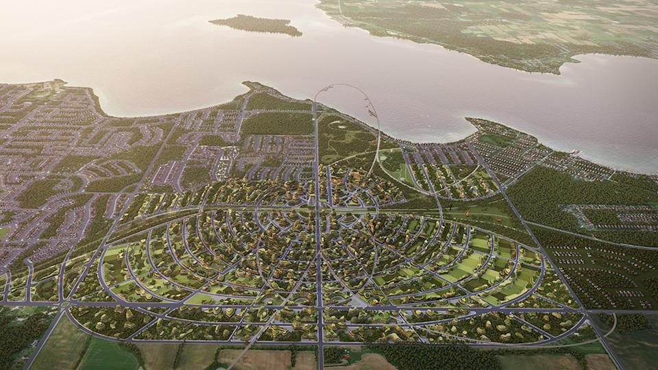 """The Orbit is an ambitious development plan """"where small town and rural lifestyles co-exist with the benefits and attributes of urban living."""""""
