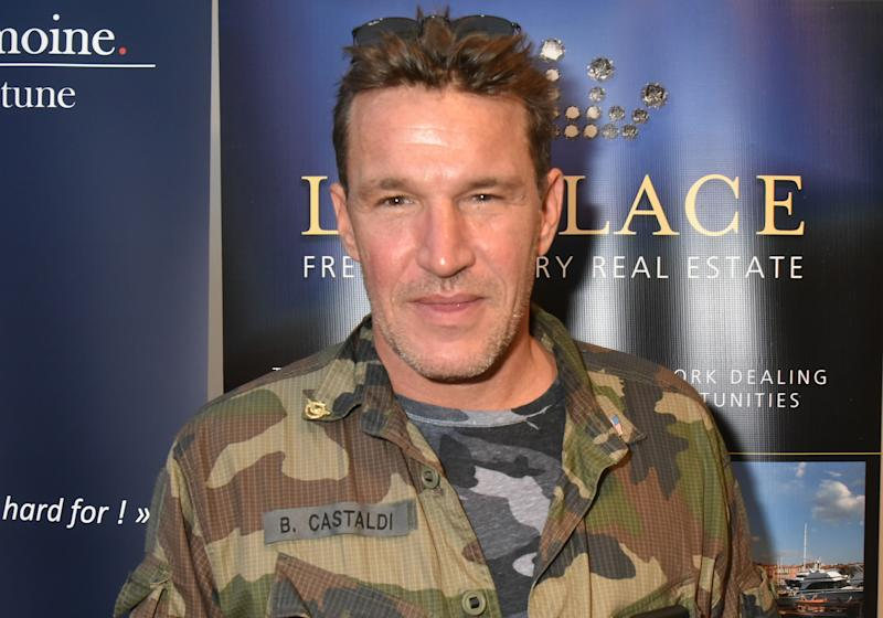 PARIS, FRANCE - SEPTEMBER 18: TV presenter Benjamin Castaldi attends the 'Miss Beaute Nationale 2019' Press Conference at SBS Patrimoine on September 18, 2018 in Paris, France. (Photo by Foc Kan/WireImage)