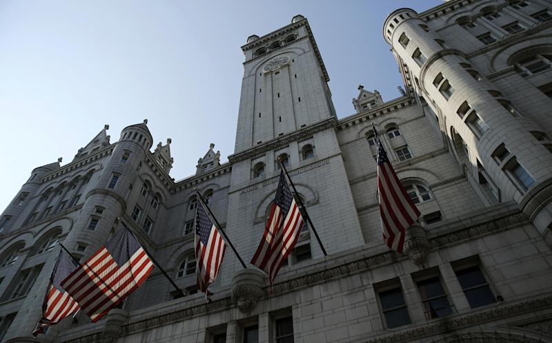 The Old Post Office Building - also the Nancy Hanks Centre - is now a Trump hotel: Reuters