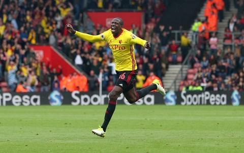 <span>Abdoulaye Doucoure has proved to be one of tge signings of the season</span> <span>Credit: Reuters </span>