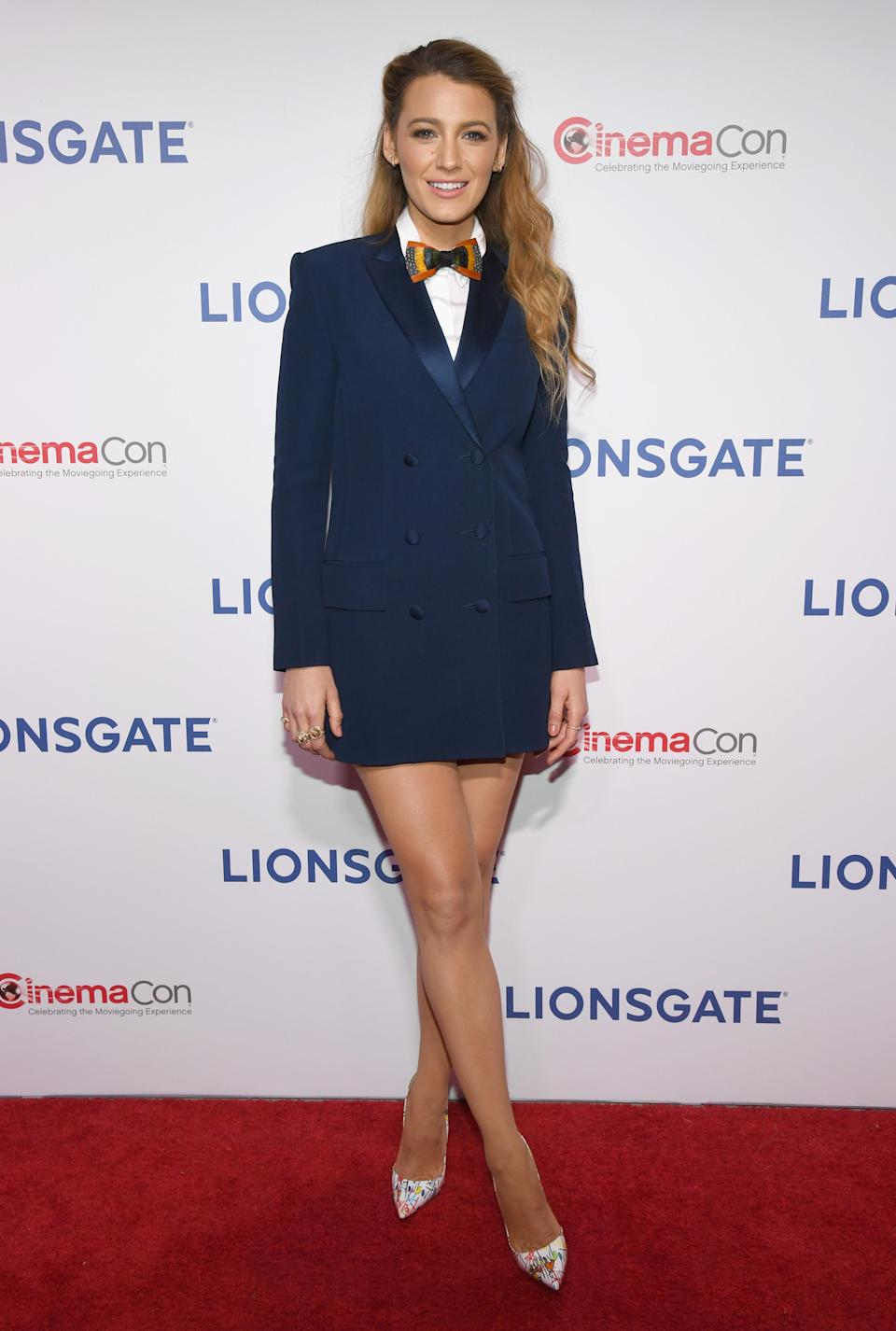 Blake Lively at CinemaCon 2018 (Photo: Getty)