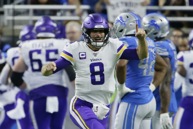 Minnesota Vikings quarterback Kirk Cousins has been playing well lately. (AP Photo/Duane Burleson)