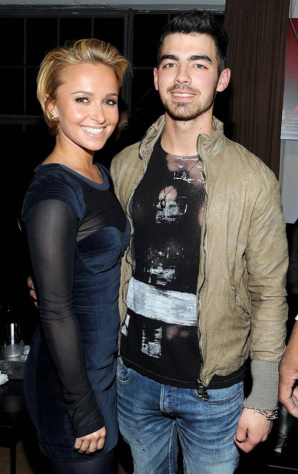 "Minus their respective partners, former ""Heroes"" star Hayden Panettiere and singer Joe Jonas had a blast at the <i>GQ</i> party Friday night. ""Impromptu jam watching session at the sickest pre-superbowl party ever,"" tweeted Joe. Michael Kovac/<a href=""http://www.gettyimages.com/"" target=""new"">GettyImages.com</a> - February 4, 2011"