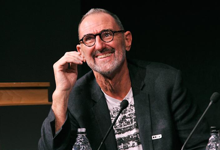 """Architect Thom Mayne at a panel discussion at MOCA in 2013. <span class=""""copyright"""">(John Sciulli/WireImage)</span>"""