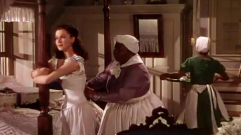 """Vivien Leigh and Hattie McDaniel in """"Gone with the Wind"""" (Photo: MGM/Warner Bros.)"""