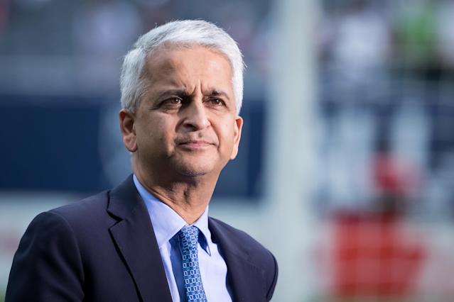 U.S. Soccer Sunil Gulati has his first contested election coming up in February – if he decides to run. (Getty)