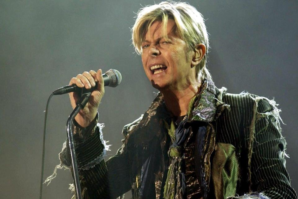 David Bowie died in January 2016 and was honoured with a commemorative coin (PA)