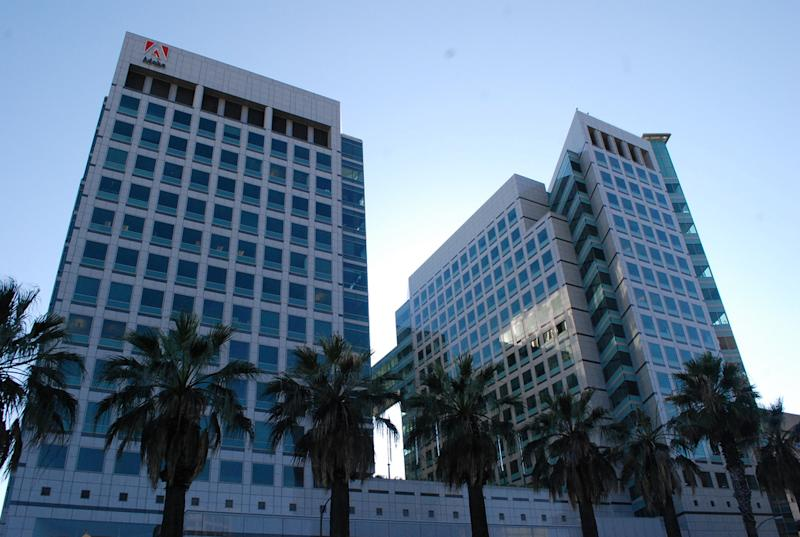 Adobe's headquarters building in San Jose.
