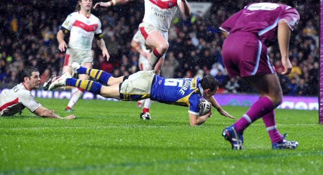 Danny McGuire scored two tries for Leeds