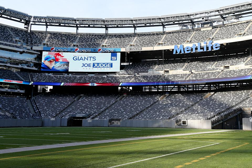 We'll have to get used to the sight of an empty MetLife Stadium. (Photo by Rich Schultz/Getty Images)