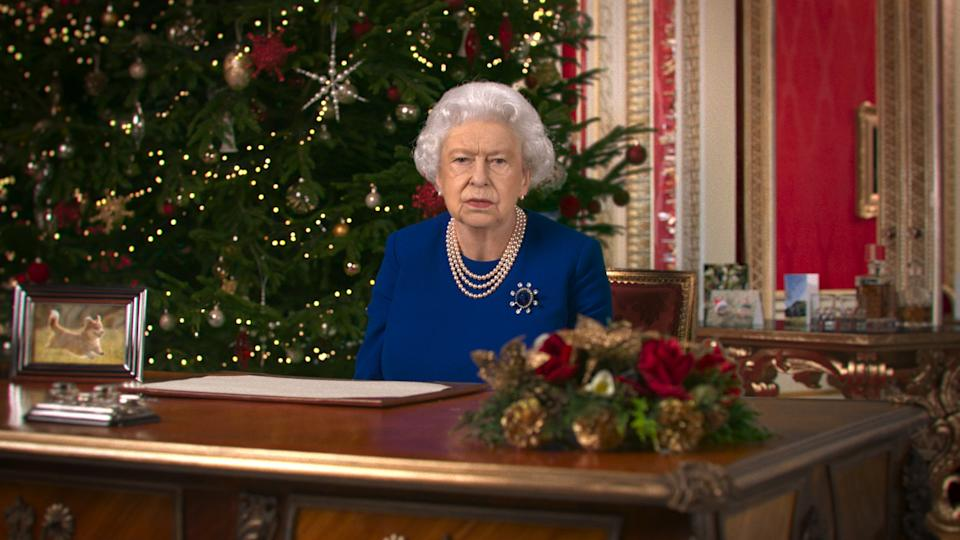 Channel 4 said the digital rendering of the Queen is 'a powerful reminder that we can no longer trust our own eyes' (Channel 4/PA)
