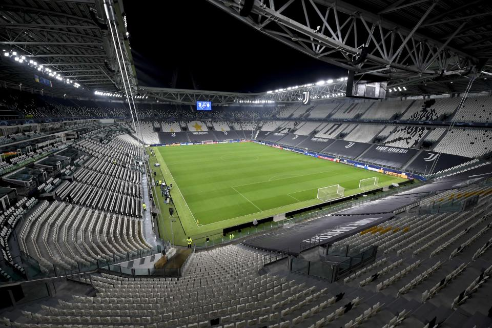 Allianz Stadium, da Juventus. Foto: Daniele Badolato - Juventus FC/Juventus FC via Getty Images