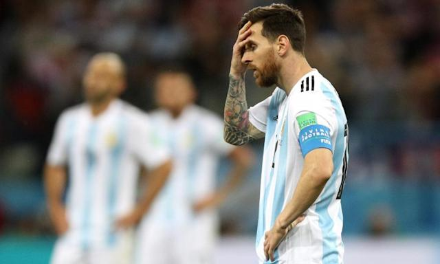 Shambolic, frenzied, anarchic – and Argentina crisis has Messi at its heart
