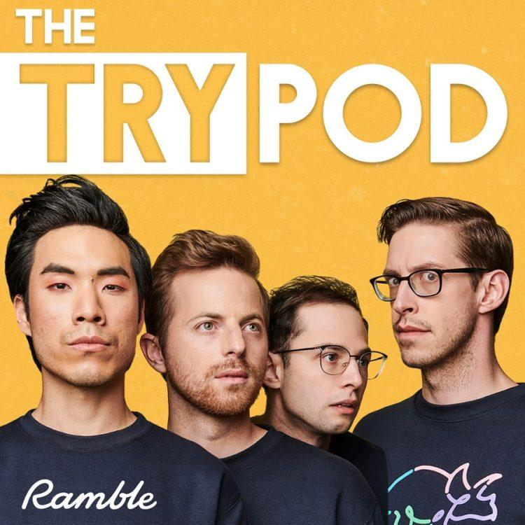 """The Try Guys' podcast 'The TryPod"""""""