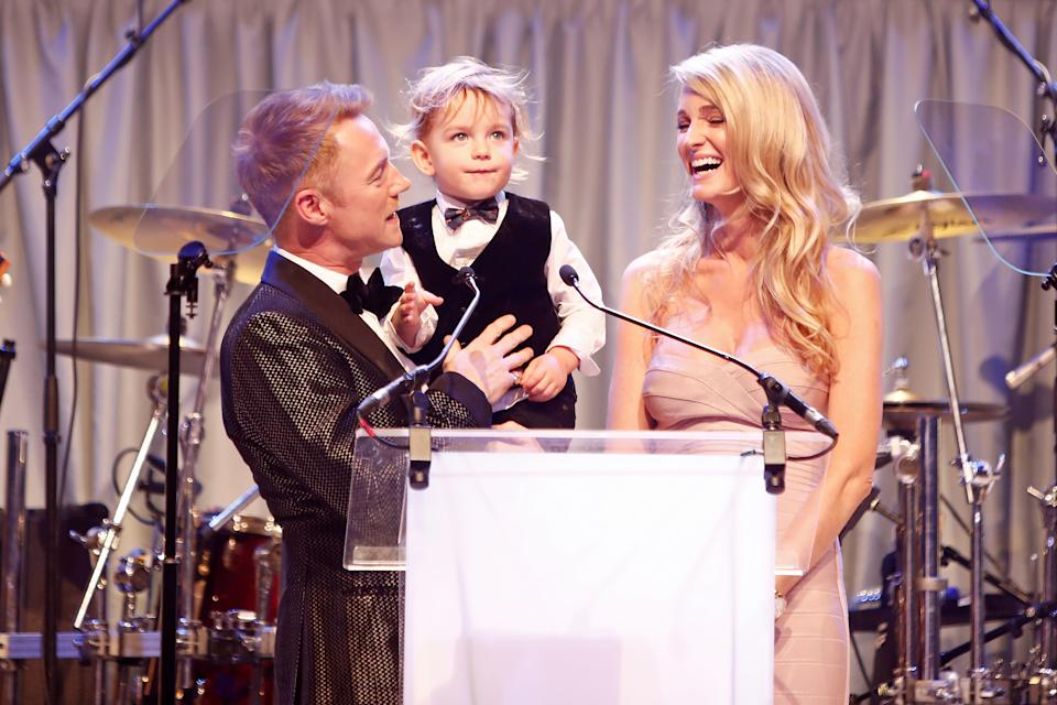 Ronan Keating has five children, including two with current wife Storm Keating. (David M. Benett/Getty Images)