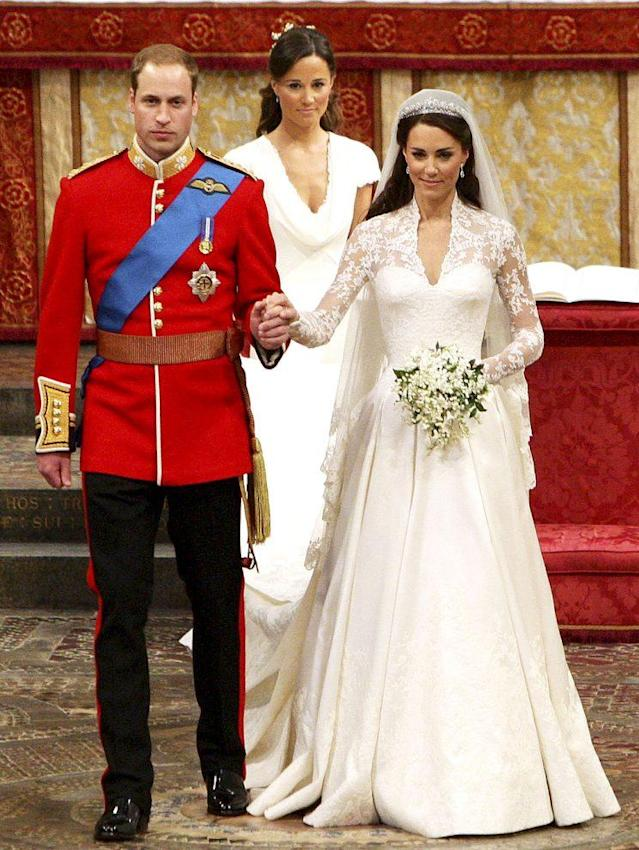 Pippa Middleton walked in Kate Middleton's 2011 wedding to Prince William. (Photo: Dave Thompson/AP, pool)