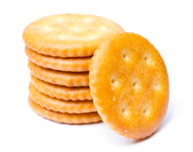 """<div class=""""caption-credit""""> Photo by: iStockphoto</div><div class=""""caption-title""""></div><b>Cookies, crackers, or biscuits - 3.1% of food choking ER visits</b> <br> One or two of those fishy crackers are probably fine. Pile in a handful of them, or biscuits, or cookies, and you'll end up with a gooey, doughy mess that can cause problems."""