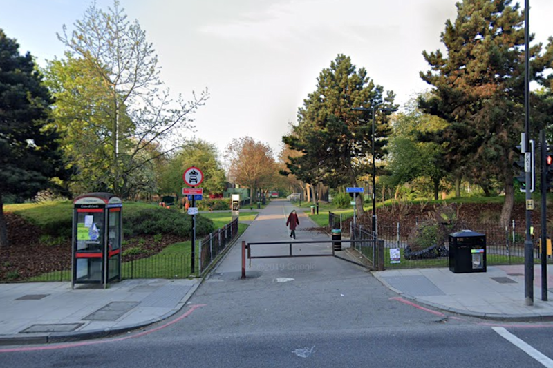 Police are on the hunt for a man who stabbed a jogger in an 'unprovoked attack' (Google Maps)