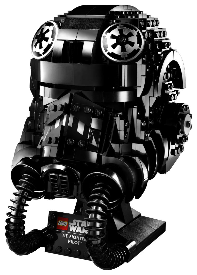 LEGO® Star Wars™ TIE Fighter Pilot™ Buildable Model Helmet (LEGO Group)