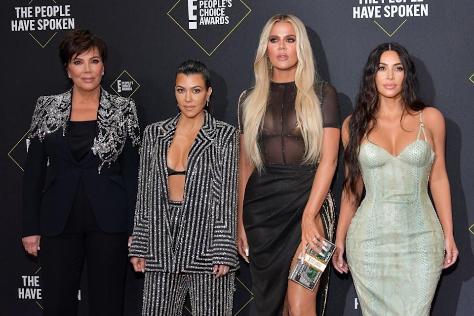 """<p>If you follow any of the Kardashians on Instagram, you know how elaborate their parties are. While we would never suggest dropping a small fortune on a casual get-together, definitely use the famous family as inspiration for your own! If you and your besties are fans of Kris Jenner, try baking <a href=""""http://www.theskinnyconfidential.com/kris-jenners-famous-lemon-cake/"""" class=""""link rapid-noclick-resp"""" rel=""""nofollow noopener"""" target=""""_blank"""" data-ylk=""""slk:her famous lemon cake"""">her famous lemon cake</a>, whipping up a few martinis, and quoting some of her most iconic lines from the show, including, """"Kim, would you stop taking pictures of yourself? Your sister's going to jail."""" </p> <p>Or if Kim is more your speed, take a page out of her book and throw a Candyland-themed party (like for North's birthday), but instead of lavish and expensive decorations, just get a bunch of candy for a fun movie night!</p>"""