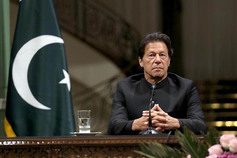 Pakistan's Prime Minister Imran Khan congratulated his Indian counterpart on his election win (AFP Photo/-)