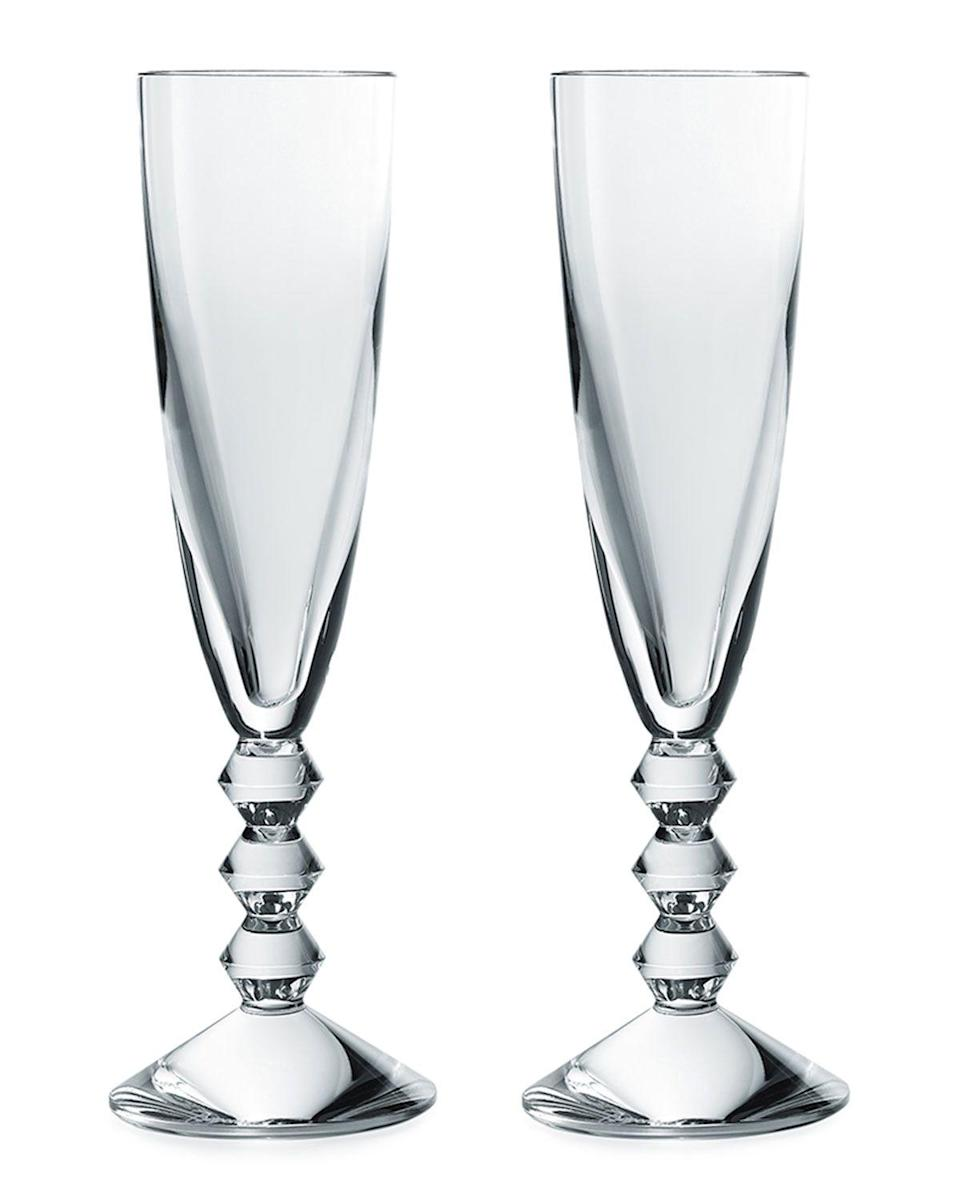 "<p><strong>Baccarat </strong></p><p>neimanmarcus.com</p><p><strong>$320.00</strong></p><p><a href=""https://www.neimanmarcus.com/p/prod211210254"" rel=""nofollow noopener"" target=""_blank"" data-ylk=""slk:Shop Now"" class=""link rapid-noclick-resp"">Shop Now</a></p><p>Toast to your relationship with a set of crystal glasses. </p>"