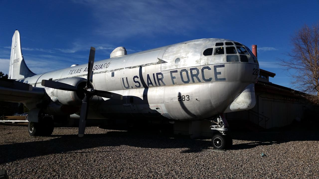 """Airplane food never tasted so good. Housed inside a KC-97 Boeing built in 1953, The Airplane Restaurant can seat up to 42 patrons for lunch or dinner. Having traveled the world, the Boeing is now permanently wheels-down in Colorado Springs and serving up some American favorites. <a rel=""""nofollow"""" href=""""http://www.solosrestaurant.com/"""">solosrestaurant.com</a>"""
