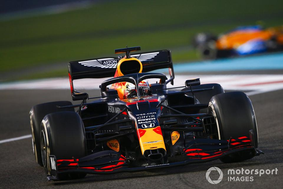 "Max Verstappen, Red Bull Racing RB16<span class=""copyright"">Andy Hone / Motorsport Images</span>"