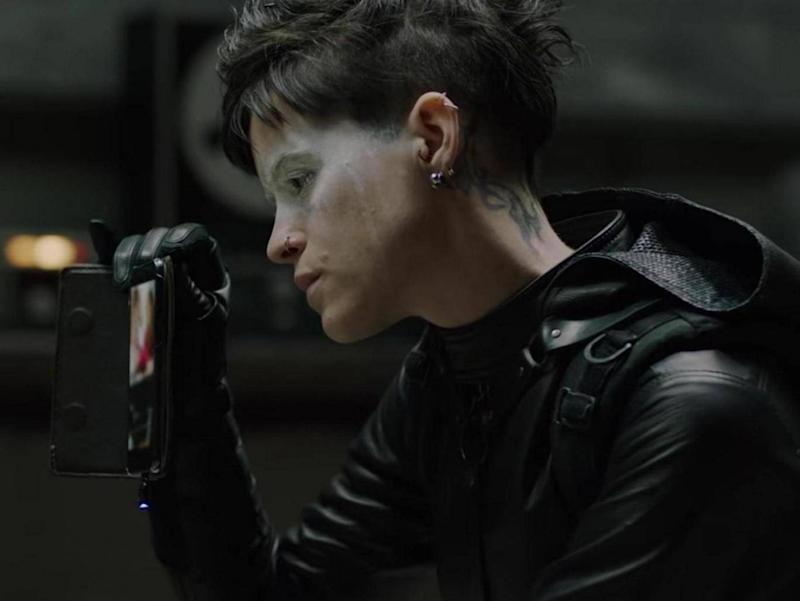 Claire Foy in The Girl in the Spider's Web (Sony)