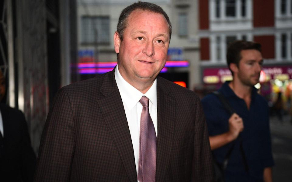 Newcastle owner Mike Ashley is awaiting further developments after another prospective buyer - PA