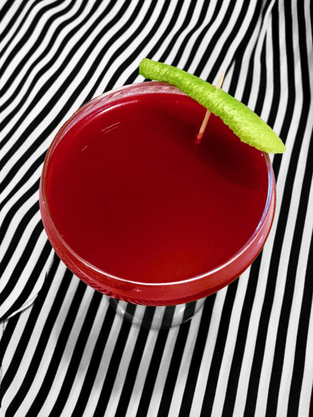This cocktail is the perfect Halloween treat. (Photo: Natasha Otrakji/Pokito Brooklyn)
