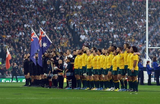 England last hosted the World Cup in 2015 when New Zealand and Australia clashed in the final with the All Blacks prevailing 34-17