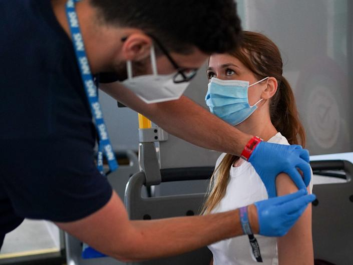 A Latitude attendee is vaccinated (PA)