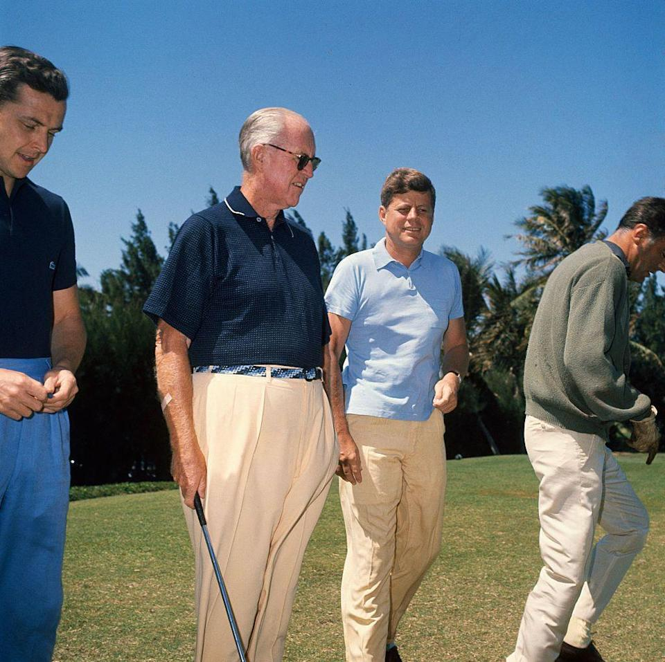 <p>Similar to Palm Springs, West Palm Beach was known for great golfing. The point of difference was Palm Beach's scenic waterfronts and laid-back sensibilities. Golfers like President John F. Kennedy enjoyed visiting and taking a swing or two. </p>