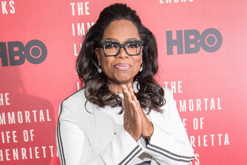 """Oprah """"Can't Talk About"""" Her Yacht Trip With the Obamas"""