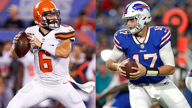 NFL Network's Brian Baldinger breaks down Josh Allen and Baker Mayfield's rookie debuts as they get ready to faceoff in this preseason week 2 matchup.
