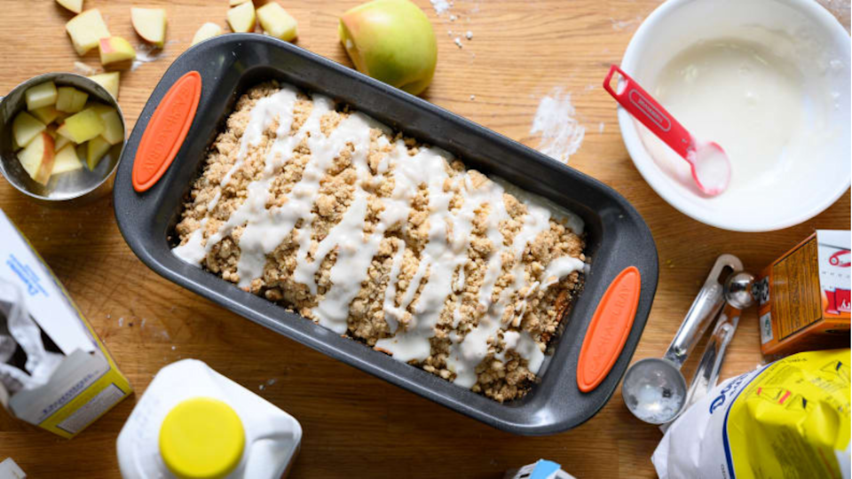 For the person with the best banana bread recipe: Rachael Ray Yum-o! Nonstick Oven Lovin' Loaf Pan