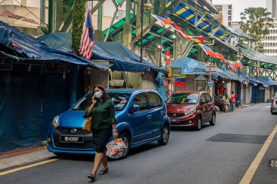 With Covid-19 still persisting both in Malaysia and globally, at least 23 per cent of respondents said they do not know if they will remain open at the end of 2021. — Picture by Firdaus Latif