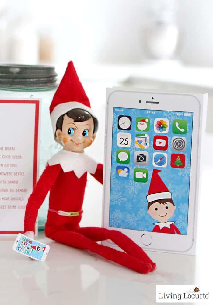 """<p>Why, yes, that <em>is</em> the latest version of the iElf X Phone! Bring your Elf into the 21st century with this hilarious printable.</p><p><strong>Get the tutorial at <a href=""""https://www.livinglocurto.com/elf-phone-printable/"""" rel=""""nofollow noopener"""" target=""""_blank"""" data-ylk=""""slk:Living Locurto"""" class=""""link rapid-noclick-resp"""">Living Locurto</a>.</strong> </p>"""
