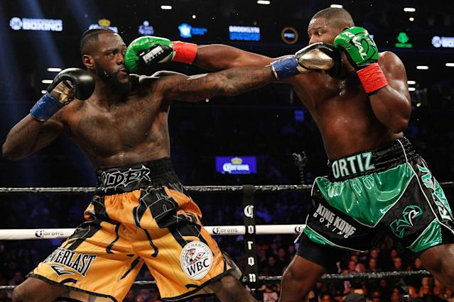 Luis Ortiz will get another shot at Deontay Wilder in November in Las Vegas, attempting to avenge his loss to the WBC champion last year. (Edward Diller/Getty Images)