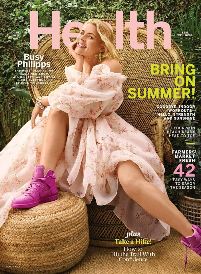 Busy Philipps Health cover