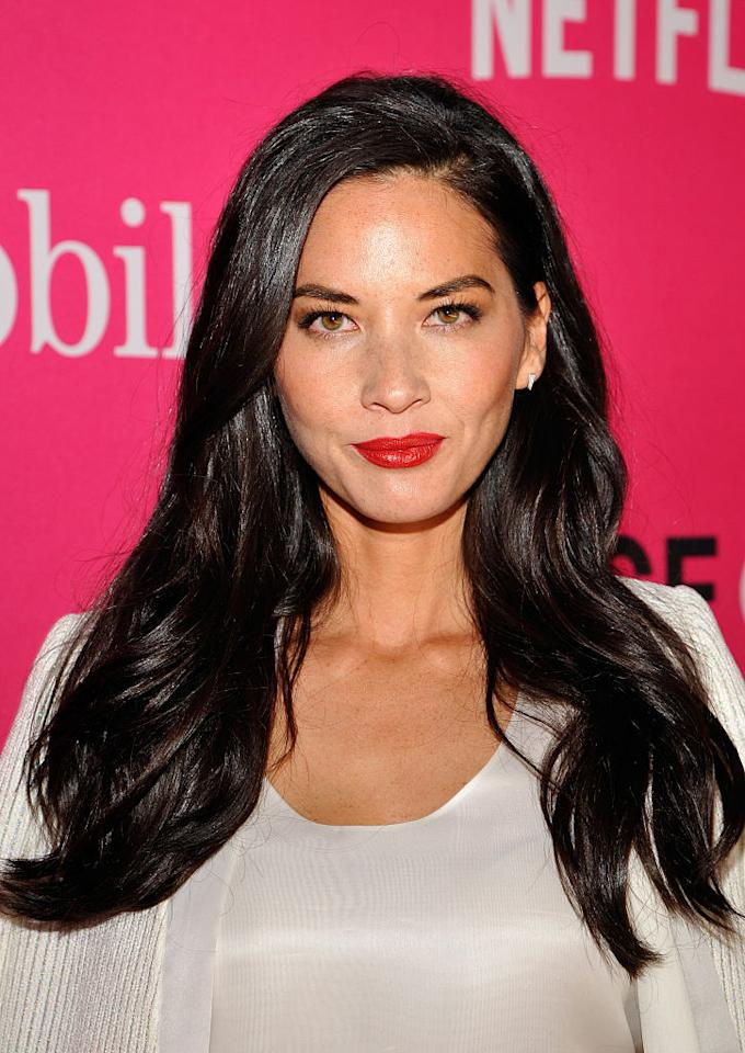 <p>Olivia Munn attends T-Mobile Un-carrier X Launch Celebration at The Shrine Auditorium on Nov. 10, 2015, in Los Angeles. (Photo: John Sciulli/Getty Images for T-Mobile) </p>
