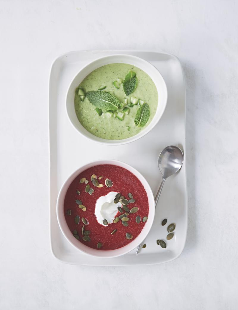 Food network star katie lee shares her green gazpacho recipe forumfinder Image collections