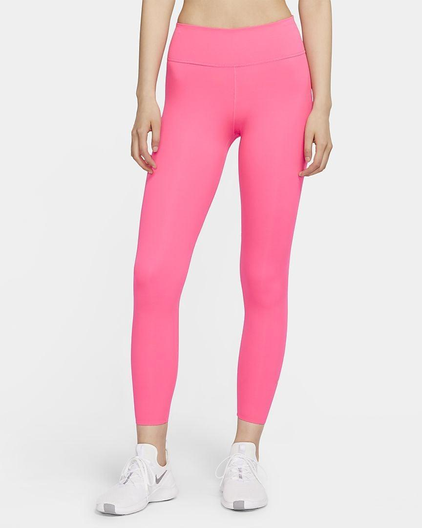 <p>Make a statement in these vibrant <span>Nike One Luxe Women's Mid-Rise 7/8 Tights</span> ($90).</p>