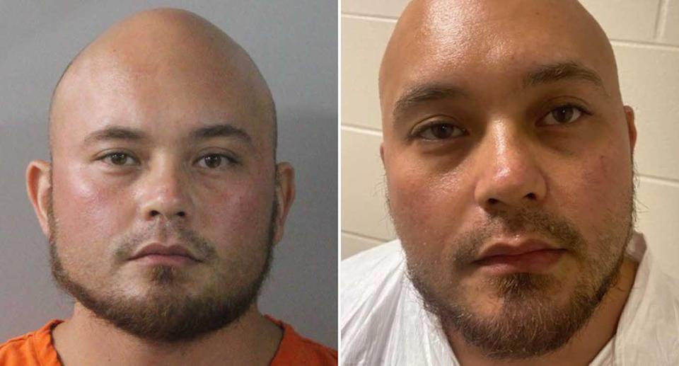 Bryan Riley, 33, is pictured.